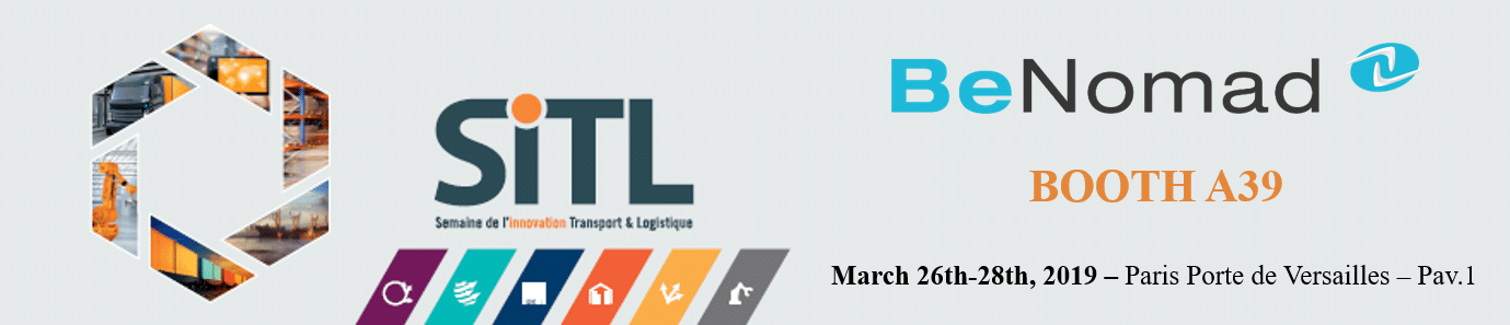 BeNomad at the SITL on March 26th-28th, 2019 in Paris.